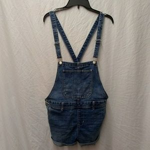 Old Navy overall shorts jeans